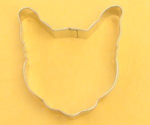 Cats Head Cookie Cutter