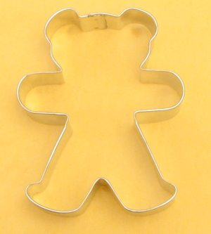 Medium Teddy Bear Cookie Cutter
