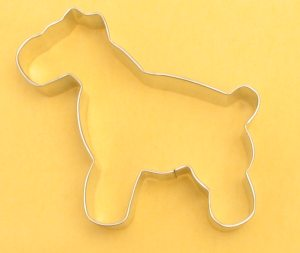Schnauzer Dog Cookie Cutter