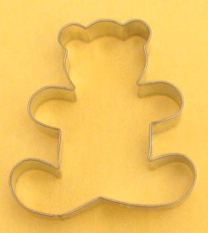 SmallTeddy Bear Cookie Cutter