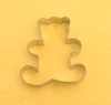 Small Teddy Bear Cookie Cutter