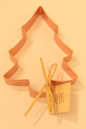 Copper Christmas Tree  Cookie Cutter