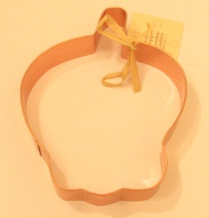Large Apple Copper Cookie Cutter
