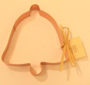 Bell Copper Cookie Cutter