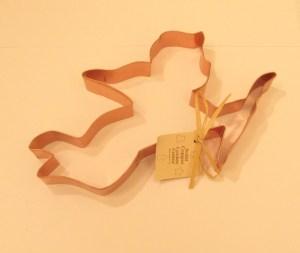Cupid Copper Cookie Cutter