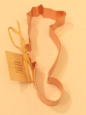 Seahorse Copper Cookie Cutter