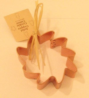 Sun Copper Cookie Cutter
